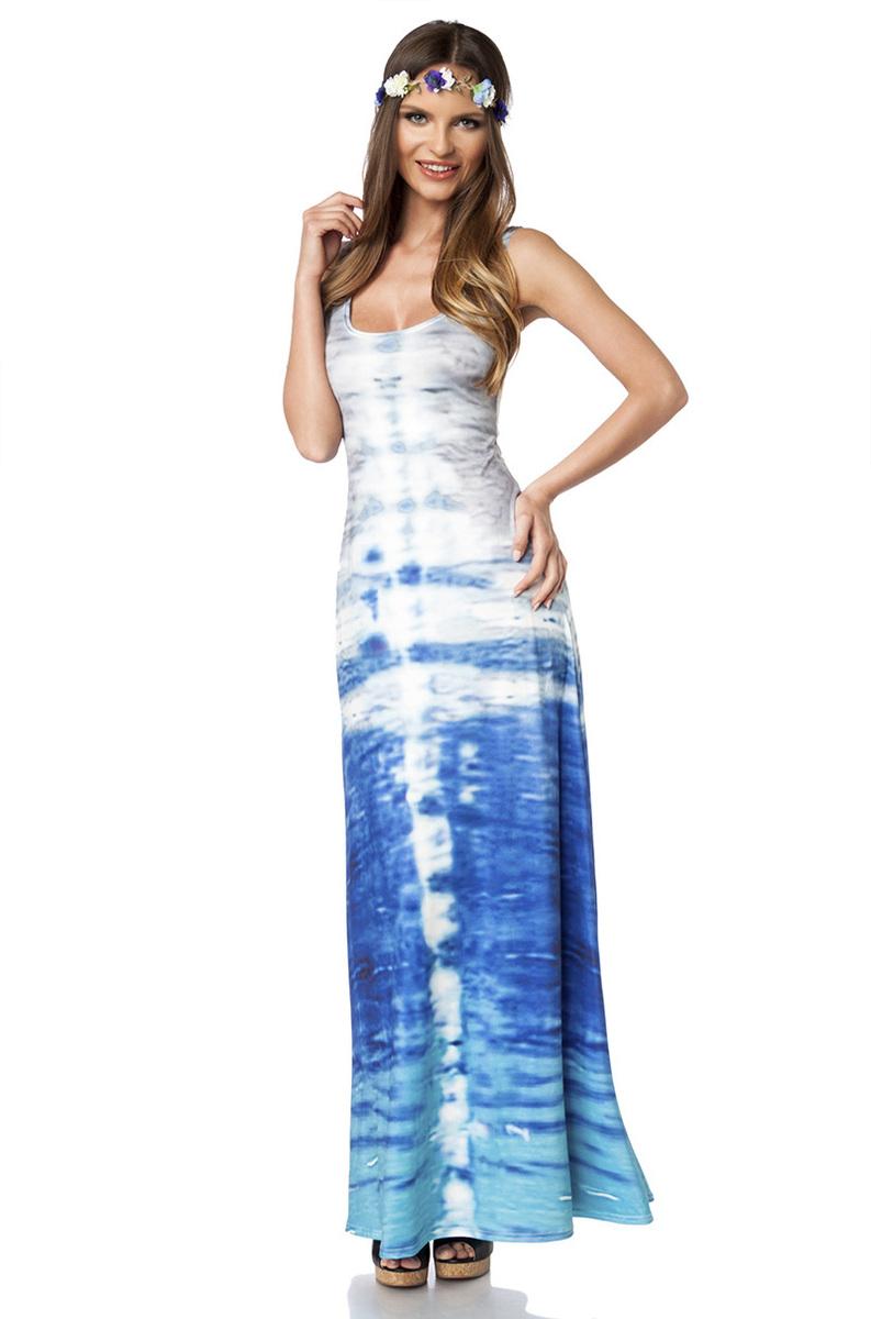 Maxi-Kleid im Coachella & Hippie Style