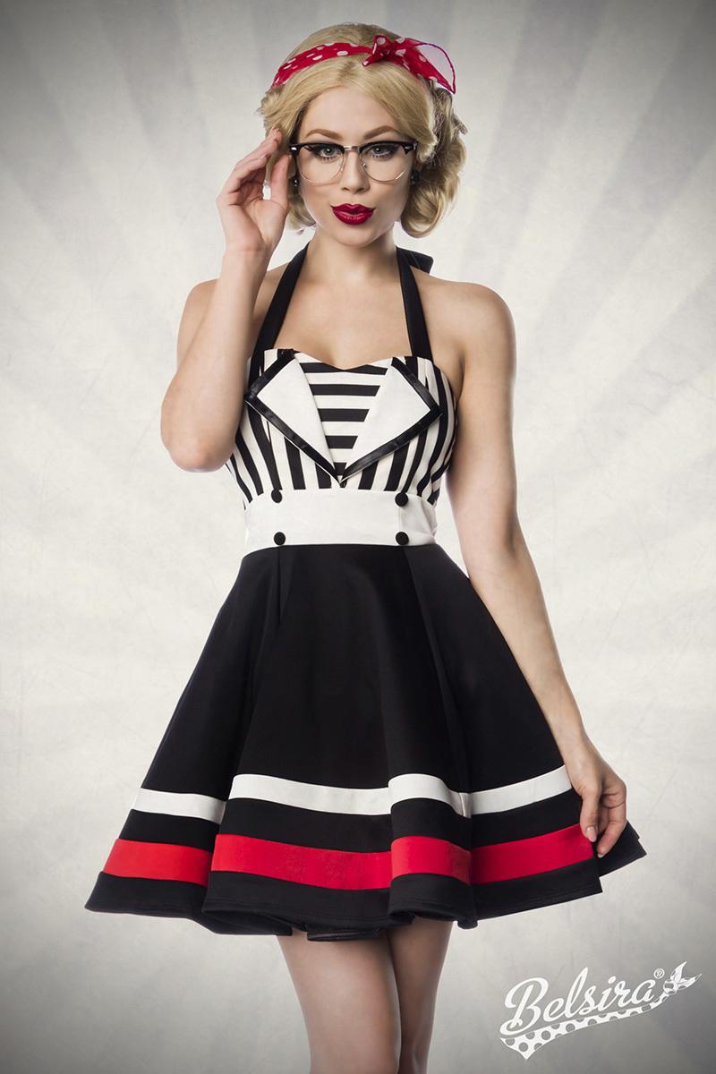 Retro Neckholder-Kleid